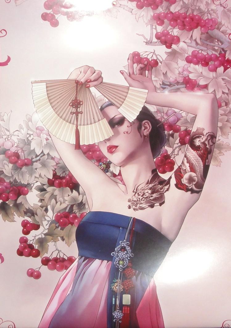 Abanicarse es un arte - Página 5 Rouge_red_by_simoleons007