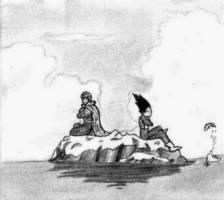 Piccolo and Vegeta by JokuKakarot