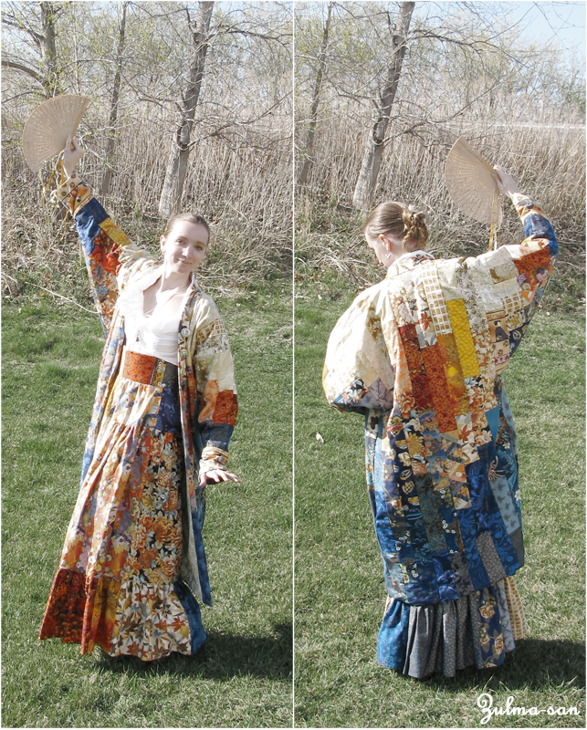 Japanese style coat by Zulma-san