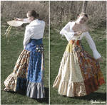 Japanese style skirt