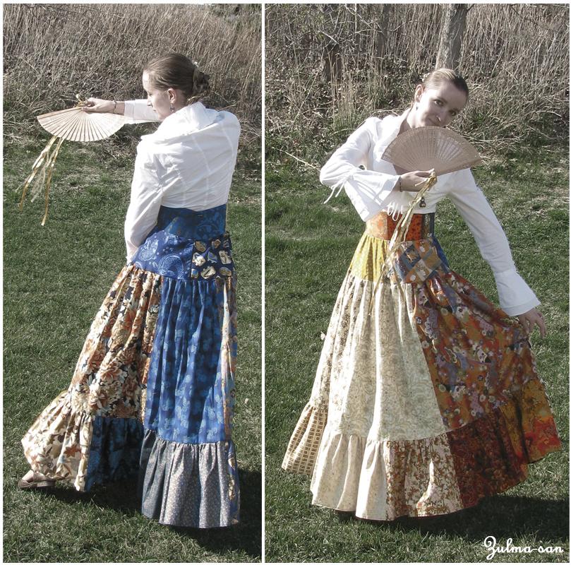 Japanese style skirt by Zulma-san