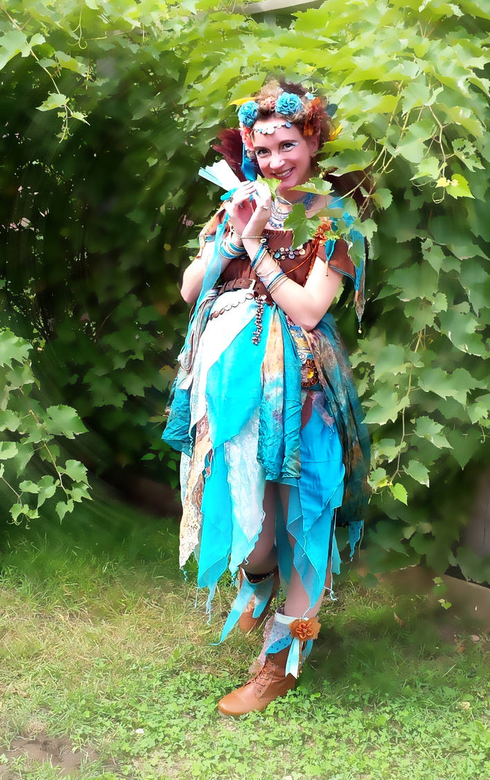 Aqua and Copper Fairy