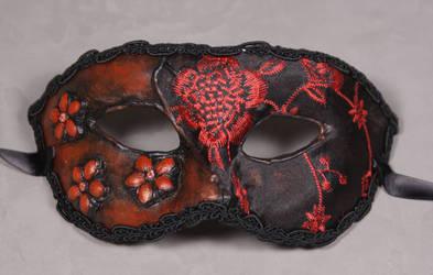 Masquerade Mask-Mala Rosa