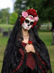 Handmade Mask-La Rosa Catrina by EffigyMasks
