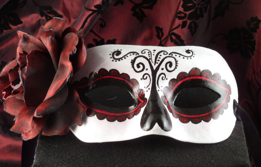 Tradition-Day of the Dead Mask by EffigyMasks on DeviantArt