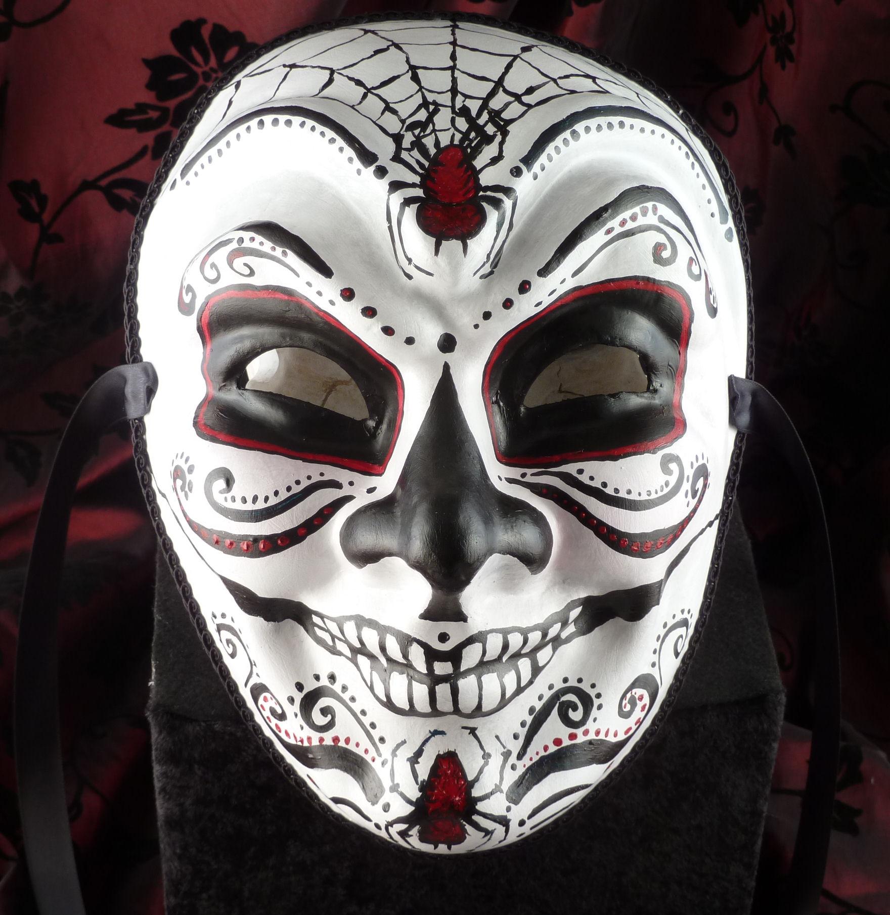 day of dead joker mask by effigymasks artisan crafts costumery masks ...