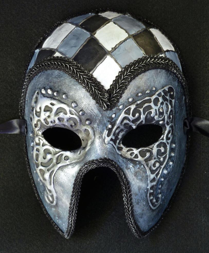 Custom Harlequin Mask by EffigyMasks