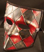 Domino Bauta Mask by EffigyMasks