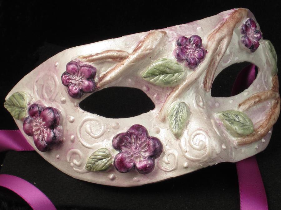 Little Lady Hydrangea Mask by EffigyMasks