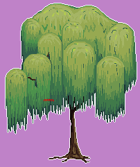 A Willow Tree by Appelsina