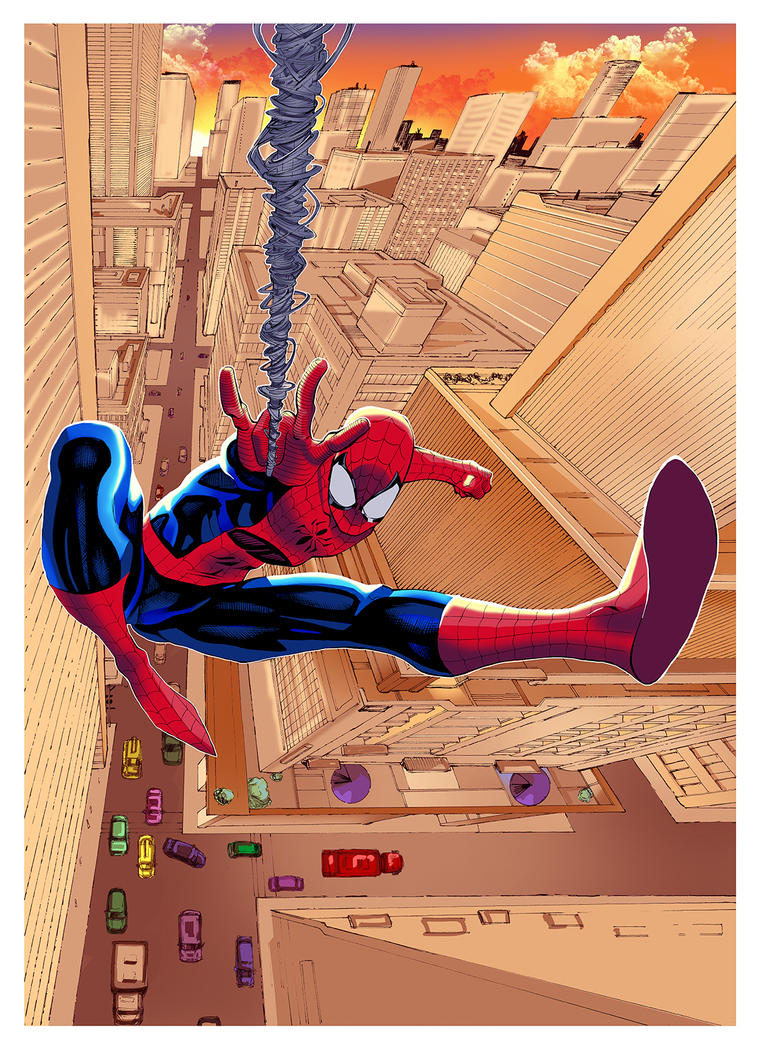 Spiderman EltonThomasi Color by eltondias