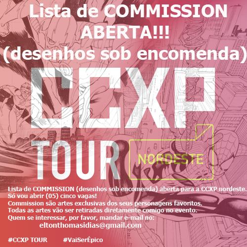 CCXP TOUR NORDESTE by eltondias