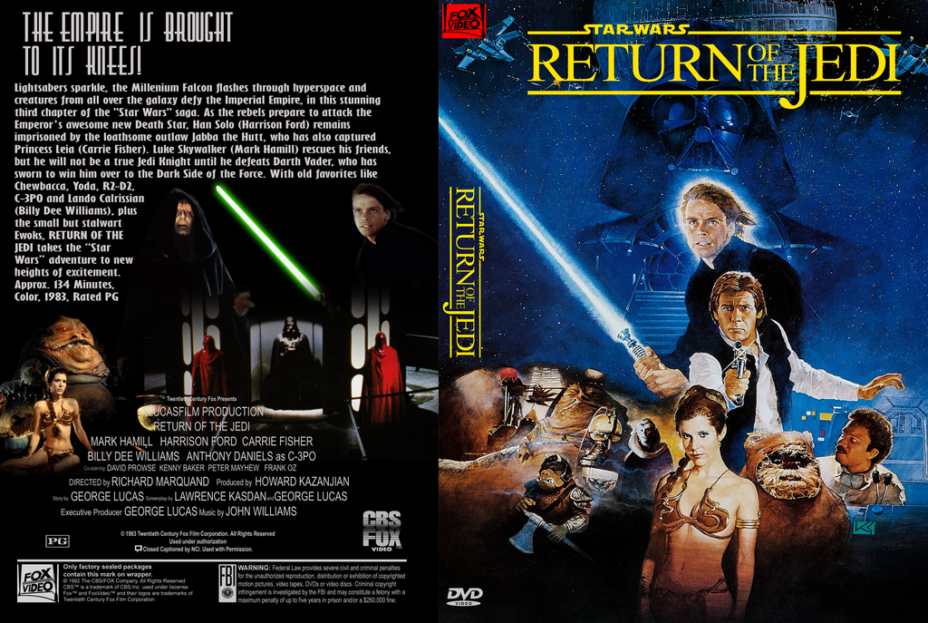 Star Wars Saga Throwback DVD covers Return_of_the_jedi_1992_vhs_style_cover_by_stephenreams-db9p2aj