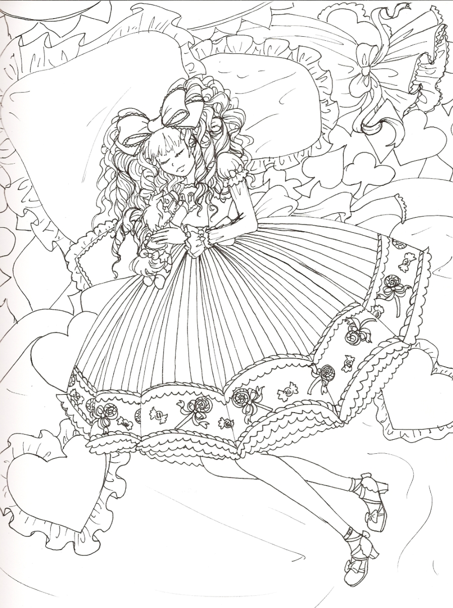 Creepy Coloring Drawings Coloring Pages