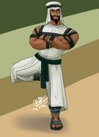 Rashid- SFV by BuenaEspada