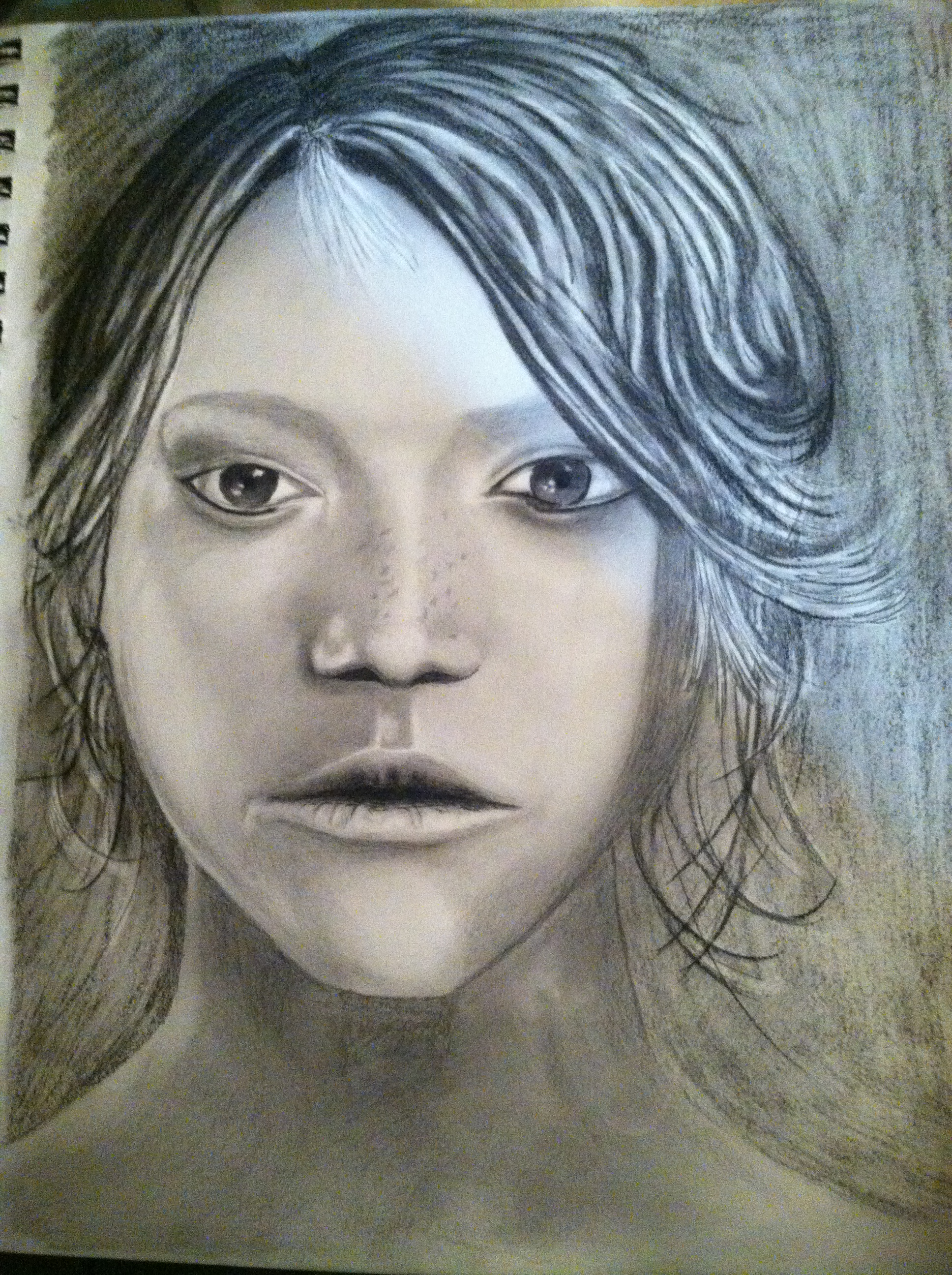 Girl by wdriii