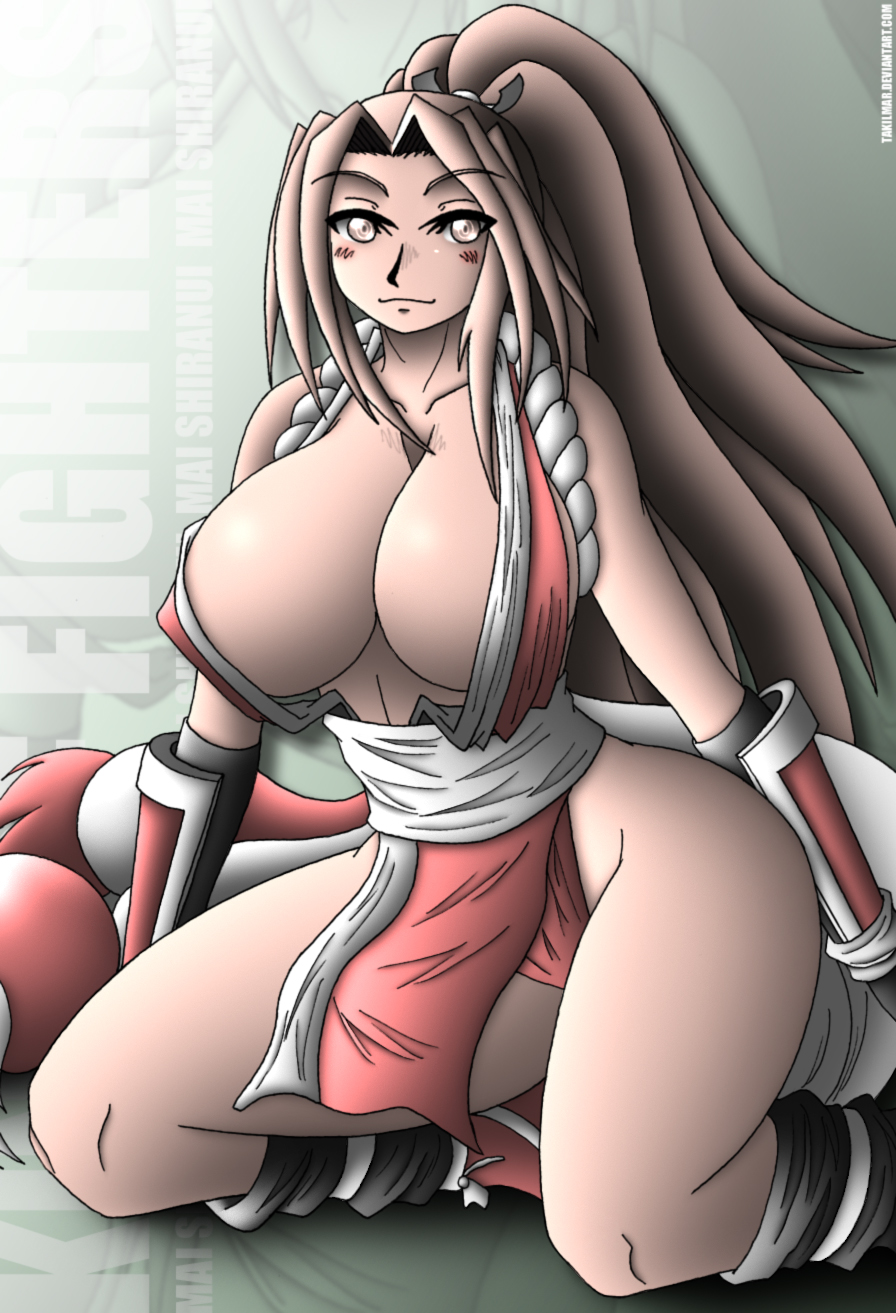 mai shiranui by takilmar