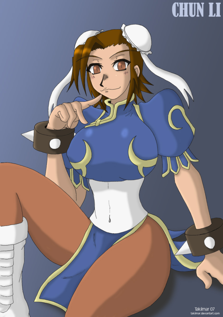 Chun Li Tribute by Takilmar