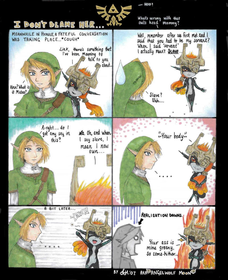 Minda sex with link zelda
