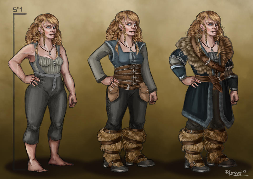 Tarin Stoneback- Dwarf OC by RachelleFryatt