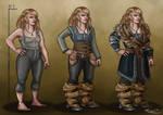 Tarin Stoneback- Dwarf OC