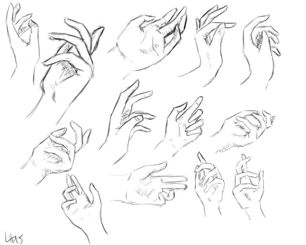 November 7th - Serious Saturday: Revenge of the Hands ...Grabbing Hand Drawing