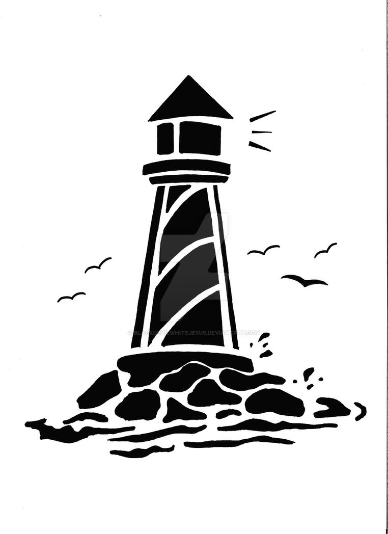 Line Art Lighthouse : Lighthouse by blackdevilwhitejesus on deviantart