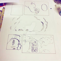 YnS WIP: inking in a page