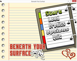 Main Menu theme for Beneath Your Surface