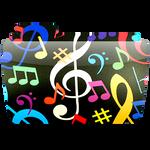 MUSIC FOLDER ICON CARPETA PNG ByDanielhega