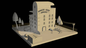 Ravenwood Asylum (WIP)