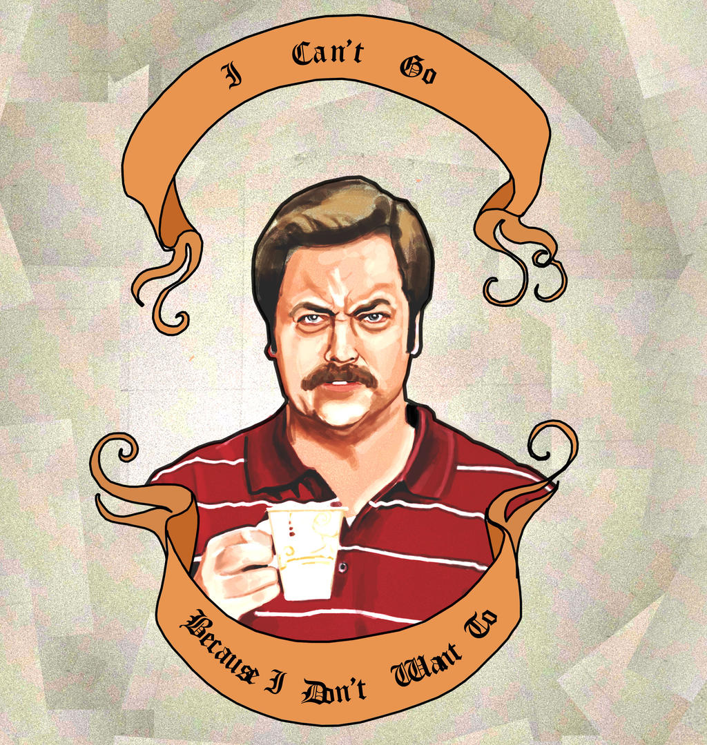 Ron Swanson Final By Moriartee Ron Swanson Final By Moriartee