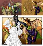 Spellsinger - colour process
