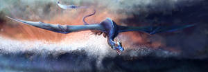 Blue Dragon - Speedpaint