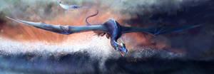 Blue Dragon - Speedpaint