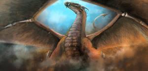 Copper Dragon - Speedpaint