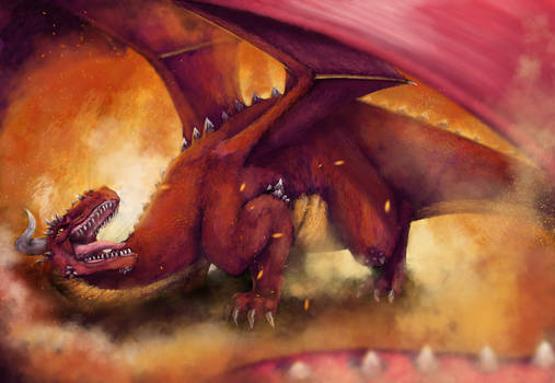 Red Dragon - Speedpaint