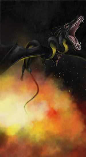 Black Dragon - Speedpaint