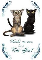 Esme and Kasi Sign
