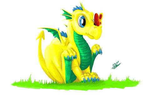 Babydragon Yellow