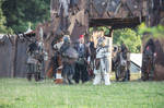 Youa and Jaru at the Orccamp - Drachenfest 2014 by poisonmilow