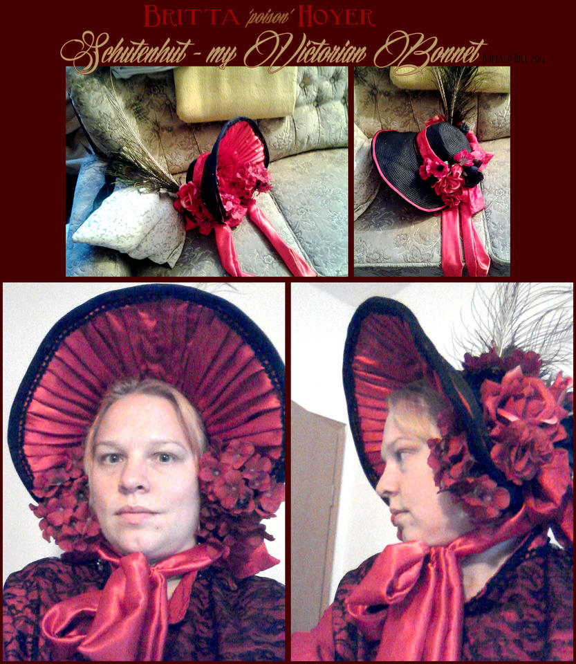 Victorian Bonnet by poisonmilow