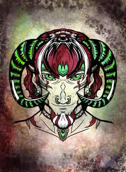 Tribal Face - Ram
