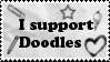 I support Doodles by BloodSoakedMadness