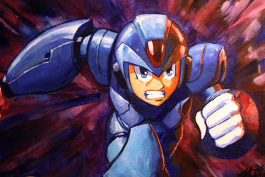Megaman X Commission by Lalilulelo2003