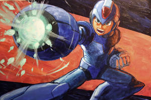 Megaman X2 Commission by Lalilulelo2003