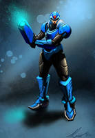 Megaman X Redesign by Lalilulelo2003