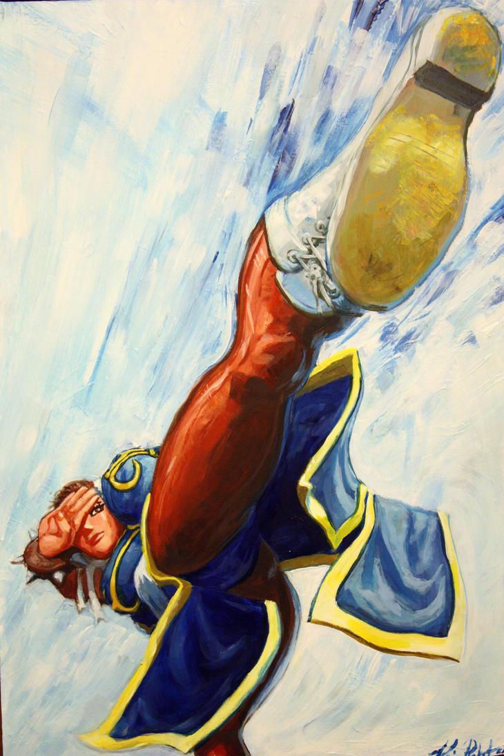 Street Fighter's Chun-Li by Lalilulelo2003