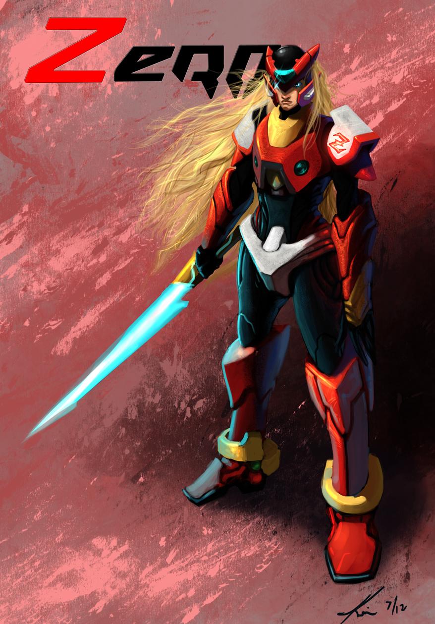 Megaman X- Zero by Lalilulelo2003