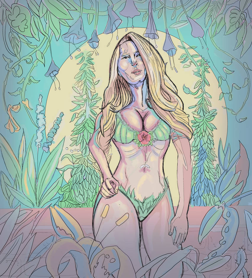 Garden Goddess by Cloudhappy